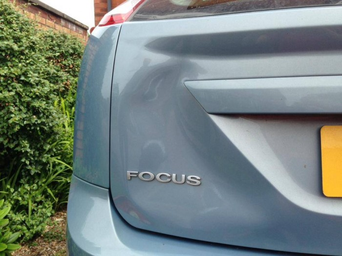 Hatchback Boot Dent Repair - Before
